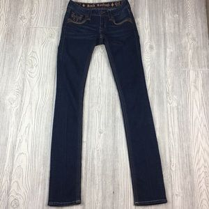 Rock revival 24 sherry straight dark jeans